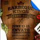 BBQ Kings Cook Off Flyer Template - GraphicRiver Item for Sale