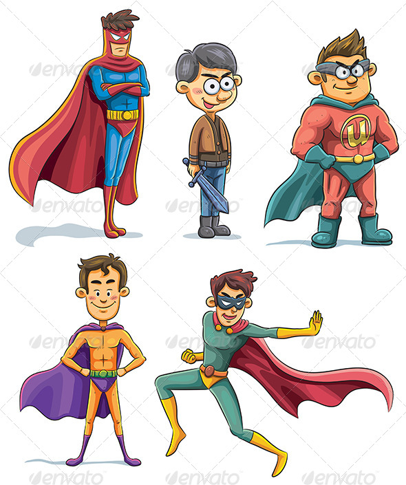 Superhero Collection - People Characters