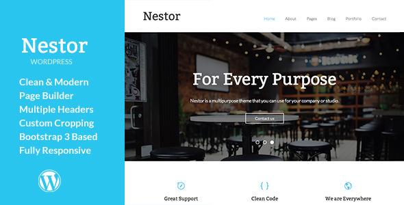 Nestor – Responsive WordPress Theme