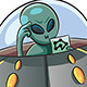 UFO Confused - GraphicRiver Item for Sale
