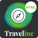 Traveline | Tour & Travel Hotel Booking Template  Nulled
