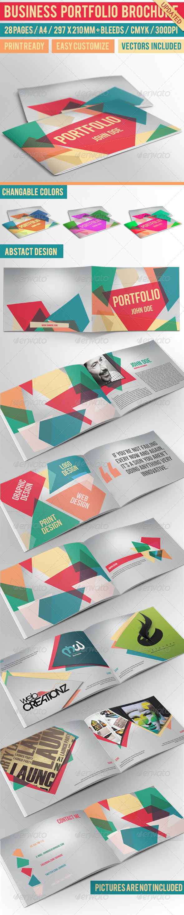 Business Portfolio Brochure - Portfolio Brochures
