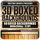 3D Boxed Backgrounds - GraphicRiver Item for Sale