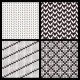 Set of Four Seamless Knitting Patterns - GraphicRiver Item for Sale