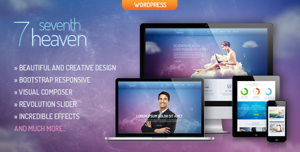 Heaven - Creative & Responsive WordPress Theme