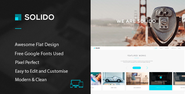 Solido – PSD Template
