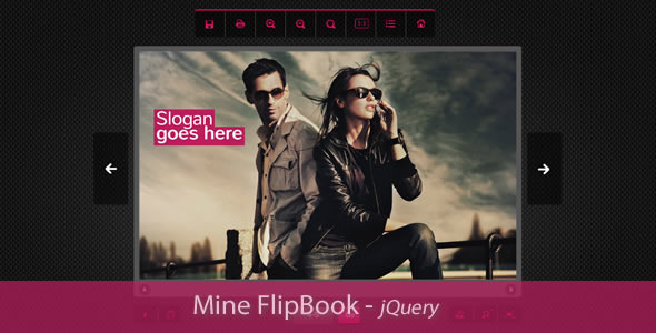 Mine Flipbook jQuery Plugin - CodeCanyon Item for Sale