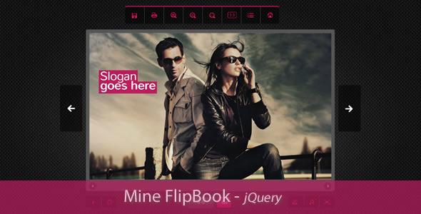 Mine Flipbook jQuery Plugin - CodeCanyon Item for Sale