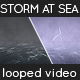 Lightning Storm at Sea - VideoHive Item for Sale