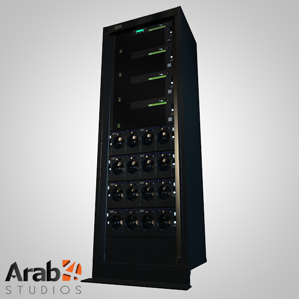 Server Rack IBM 2 - 3DOcean Item for Sale