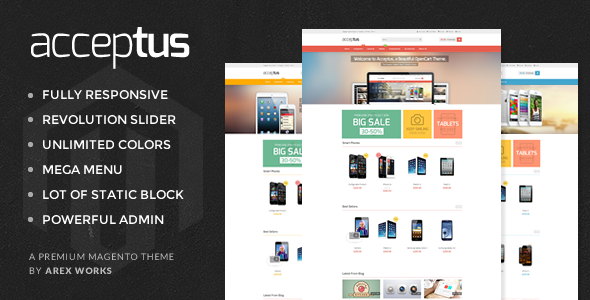 AM Acceptus – Successfully Store Magento Theme