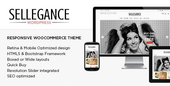 Sellegance – Responsive WooCommerce Theme