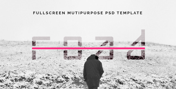 Road - Fullscreen Mutipurpose PSD Template
