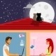 Man and Woman in Social Networking - GraphicRiver Item for Sale