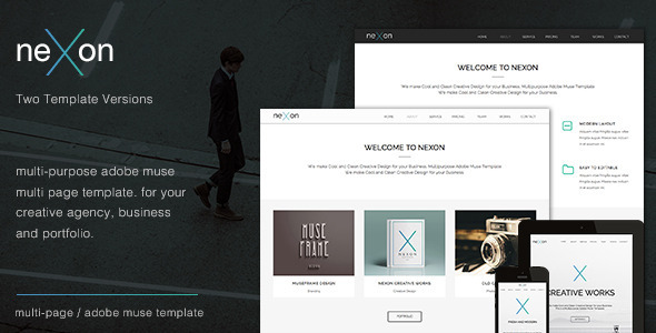 NeXon – Multi-Purpose Creative Muse Template