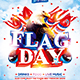 Flag Day Weekend Party Flyer - GraphicRiver Item for Sale