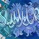 Summer Hand Lettering Set - GraphicRiver Item for Sale
