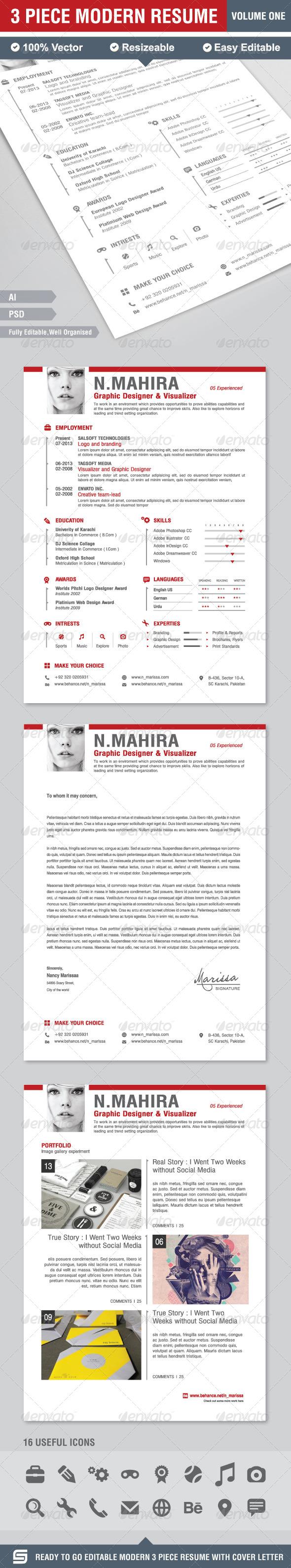 Resume - CV - Resumes Stationery