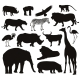 Animals Silhouettes - GraphicRiver Item for Sale