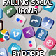 Download Falling Social Icons from VideHive