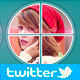 Square & Round Twitter Header - GraphicRiver Item for Sale