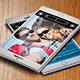 Selfie SmartPhone Business Card  - GraphicRiver Item for Sale