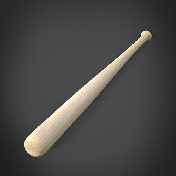 3d Model of Baseball Bat - 3DOcean Item for Sale