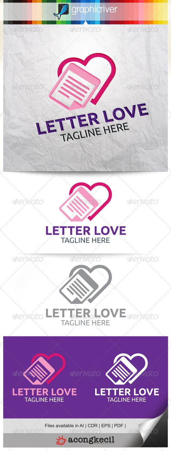 Letter Love - Symbols Logo Templates