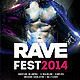 Rave Fest 2014 - GraphicRiver Item for Sale