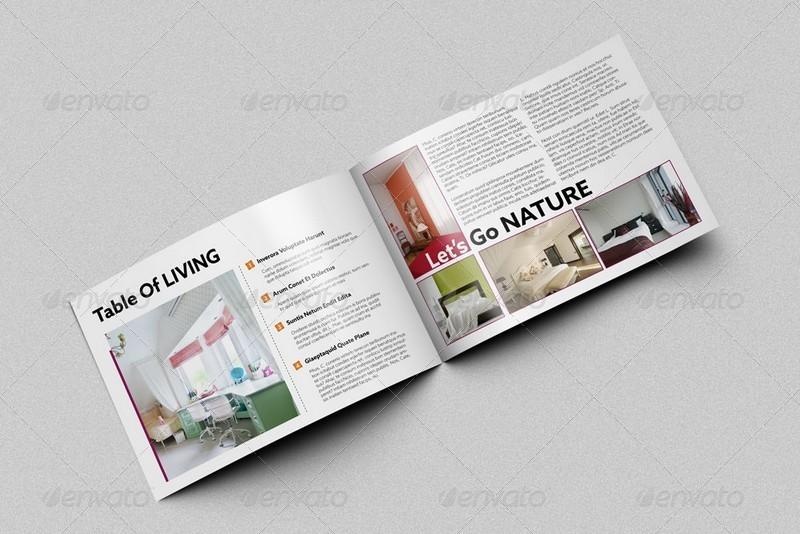 Bi Fold Horizontal Brochure Mockups By Kongkow Graphicriver