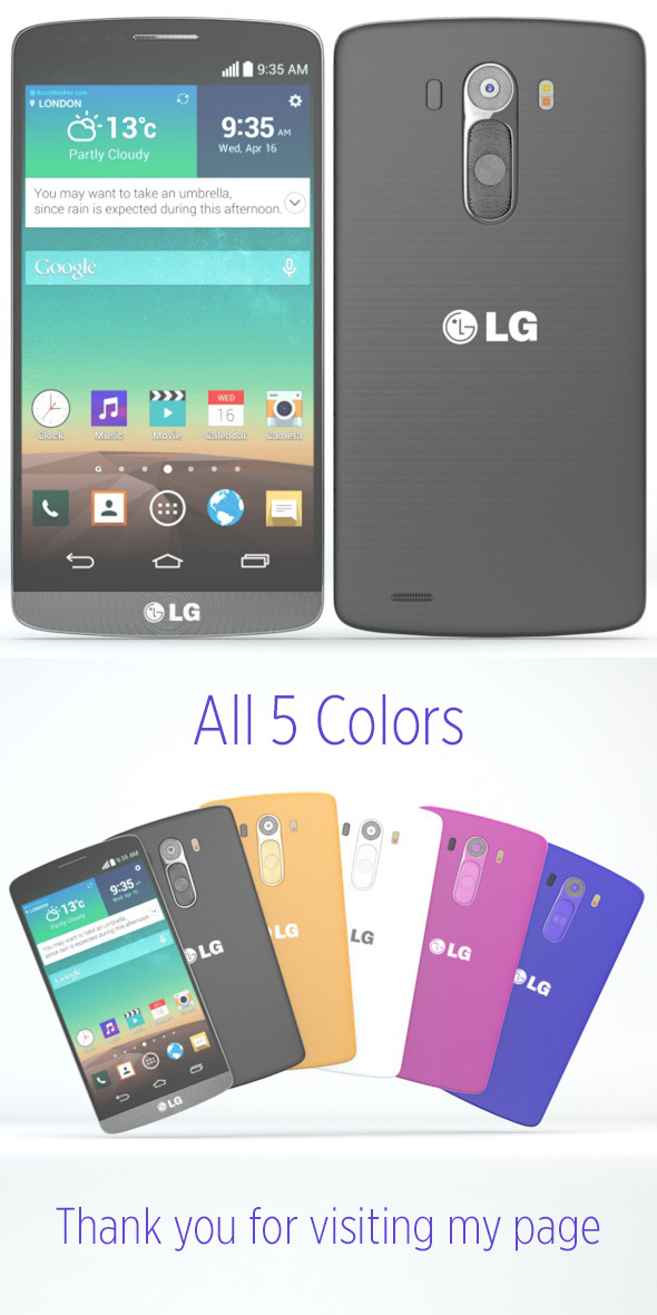 LG G3 - 3DOcean Item for Sale
