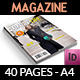 Luxury Life Magazine Template - 40 Pages - GraphicRiver Item for Sale
