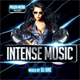 Intense Music CD Cover - GraphicRiver Item for Sale