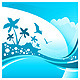 Summer Tropical Background - GraphicRiver Item for Sale