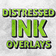14 Distressed Ink Overlays - GraphicRiver Item for Sale