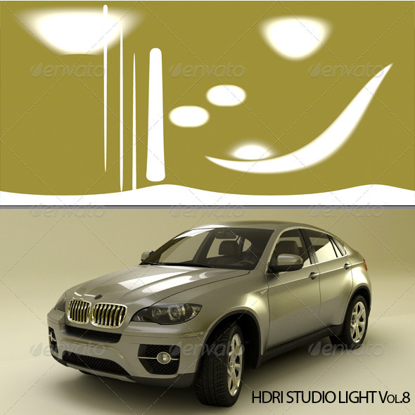HDRI_Light_8 - 3DOcean Item for Sale
