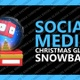 Social Media Christmas Glass Snowball - VideoHive Item for Sale