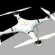 Quadcopter Drone On Alpha Channel Loops V1 - VideoHive Item for Sale