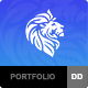 Lion - A Portfolio Theme - ThemeForest Item for Sale