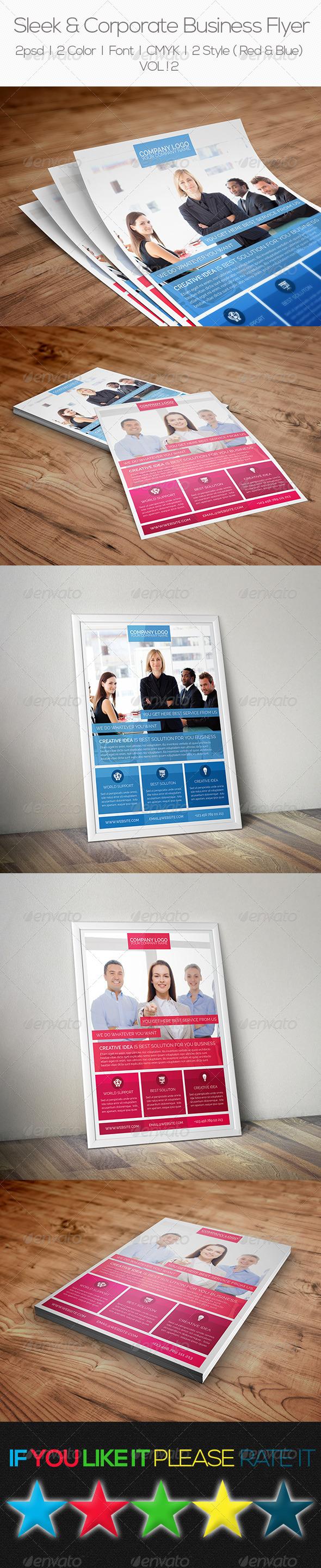 Sleek & Corporate Business Flyer - Corporate Flyers
