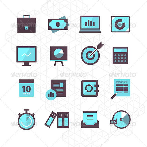 16 Finance Icons Collection - Business Icons