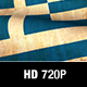 Greece Flag Loop - VideoHive Item for Sale