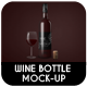 Wine Bottle Mock-Up - GraphicRiver Item for Sale