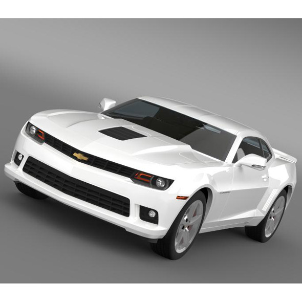 Chevrolet Camaro Coupe EU - 3DOcean Item for Sale