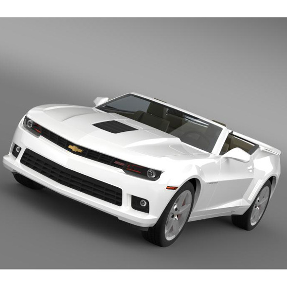 Chevrolet Camaro SS Convertible 2014 - 3DOcean Item for Sale