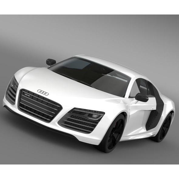 Audi R8 V10plus 2013 - 3DOcean Item for Sale
