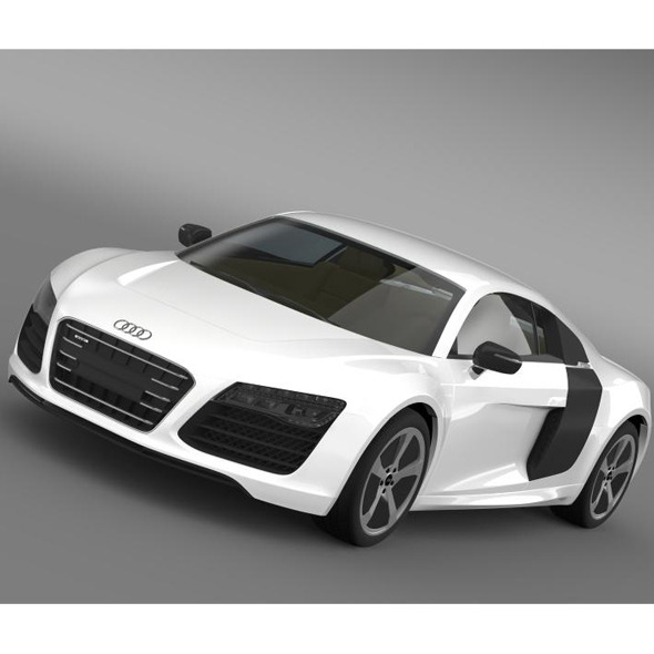 Audi R8 e TronPrototype 2013 - 3DOcean Item for Sale