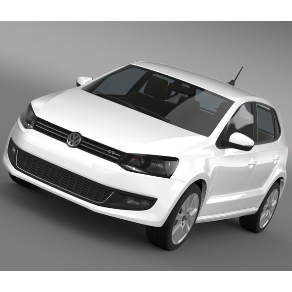 Volkswagen Polo GT 2013 - 3DOcean Item for Sale