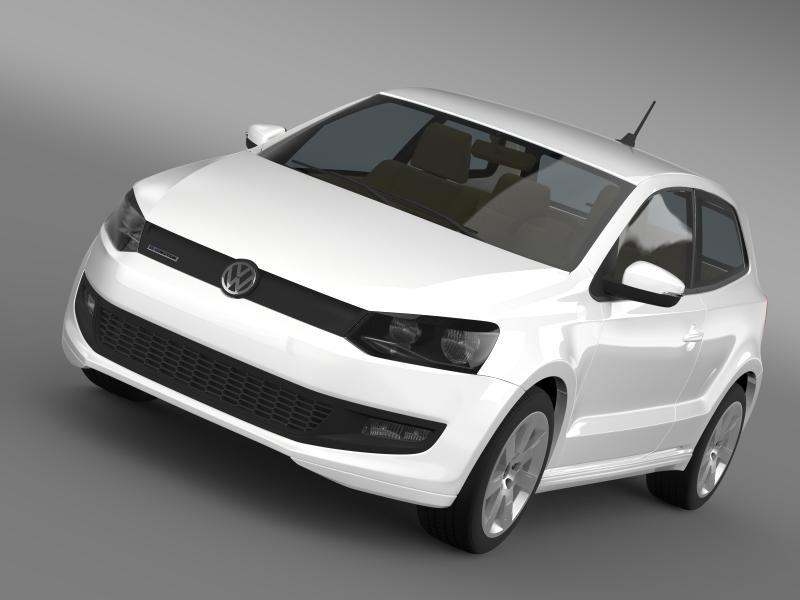 Volkswagen Polo BlueMotion 3d 2010-2013