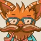 Hipster Cat - GraphicRiver Item for Sale